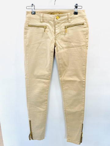Michael Kors cream jeans