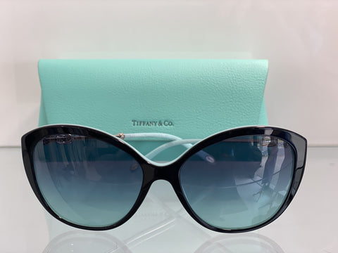 Tiffany cat eye gradient sunglasses