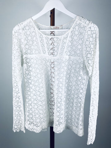 Tilly by Lee Mathews lace blouse