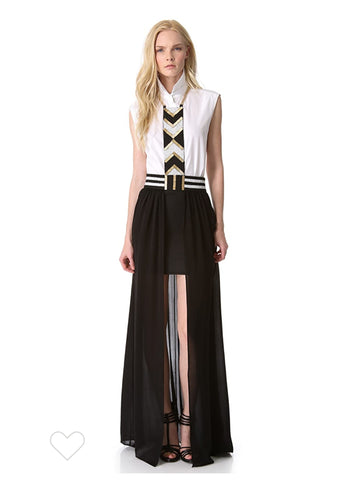 Sass and Bide Hakuna Matata Harness skirt