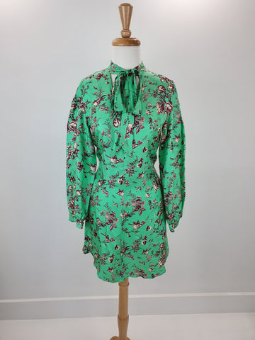 Max & Co. green floral dress