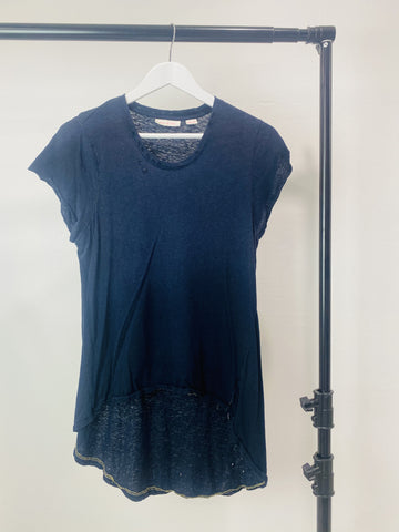 Sass and Bide Navy Top