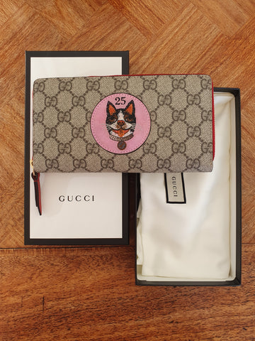 Gucci 25th anniversary wallet