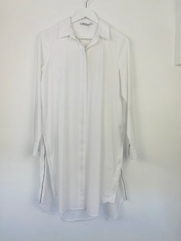 Alexander Wang White Shirt Dress