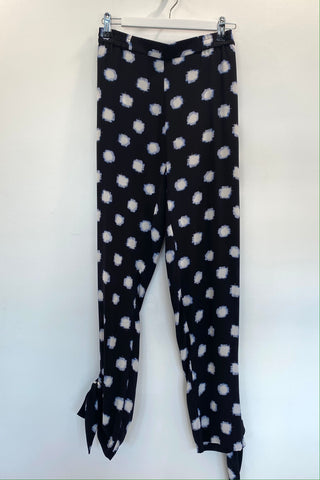 Sass and Bide black and white spot pants