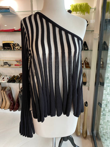 Sass and Bide Fade out one shoulder top