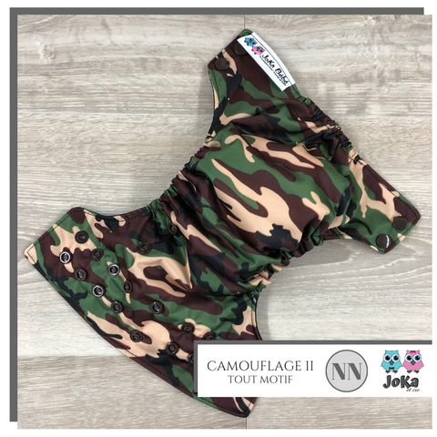 Cloth diaper All print Camouflage II New born