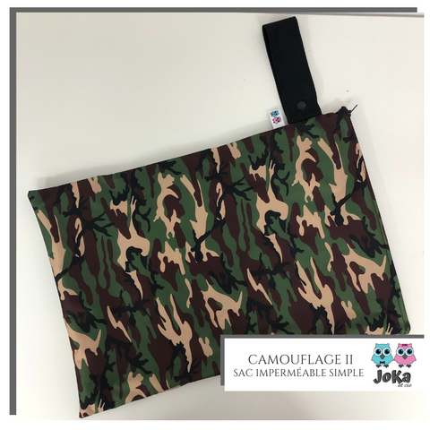 Sac imperméable simple Camouflage II