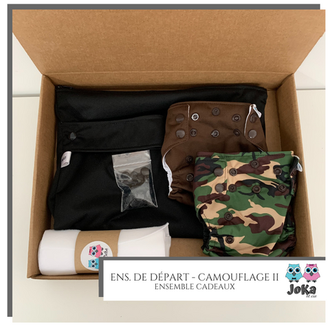 Gift set - Starting kit Camouflage II