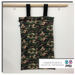 Grand sac imperméable Camouflage II