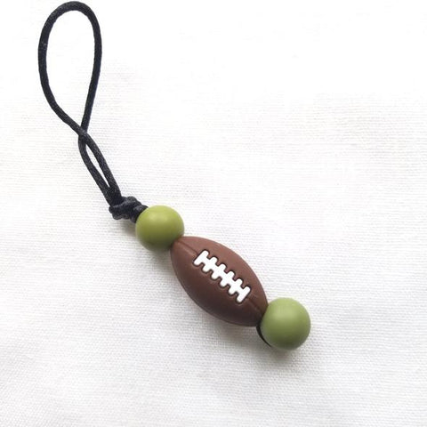 Zip à fermeture éclair - Ballon football hunther green
