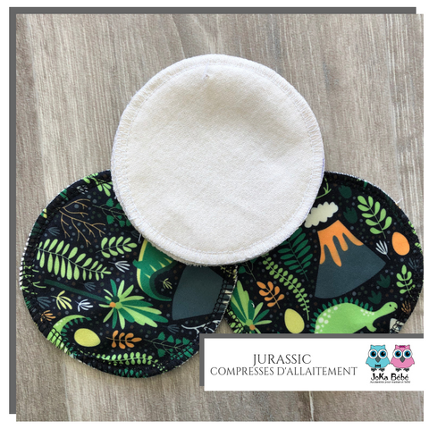 Breastfeeding pads Jurassic