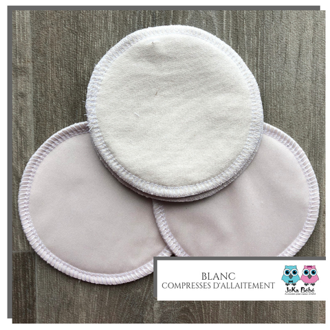Breastfeeding pads White