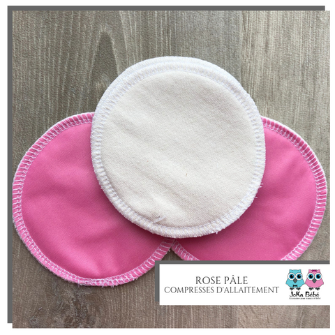 Breastfeeding pads Light pink