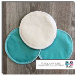 Breastfeeding pads Light teal