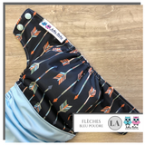 Cloth diaper 1.0 Flèches