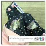 Cloth diaper 1.0 Licornes, un univers magique Large