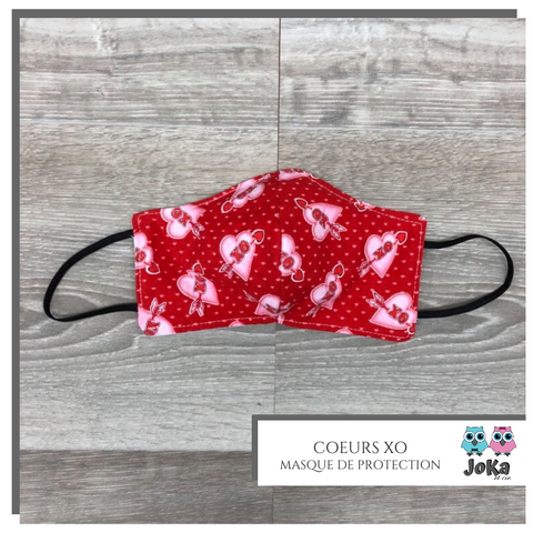 Protection's mask Coeur XO Toddler (3-5 years)