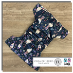 Cloth diaper Full print Oiseaux fleuris One size