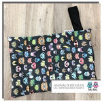 Simple wetbag Animaux rigolos