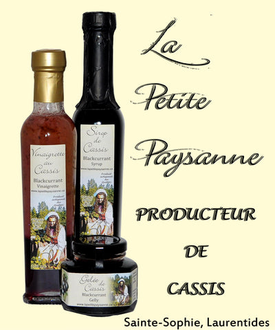 Vinaigrette au cassis 250ml