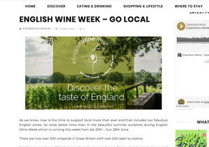 Experience Henley - English Wine Week