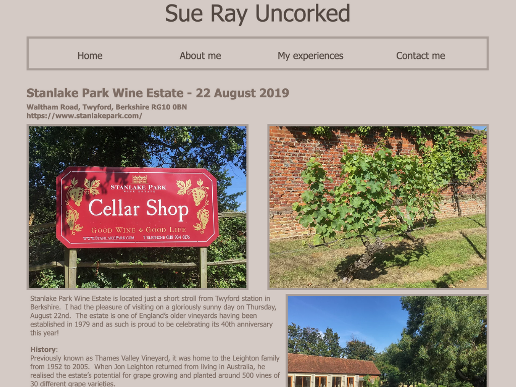 Sue Ray Uncorked