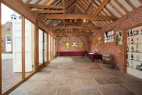 Civil Ceremony barn at Stanlake Park