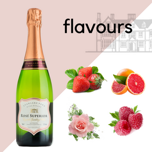 Rosé Superior English Sparkling Wine