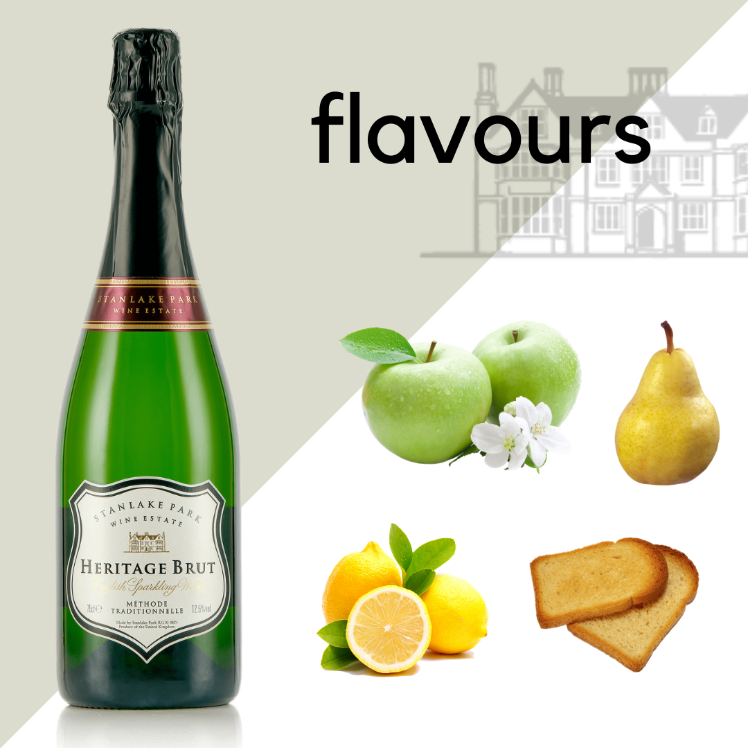Heritage Brut English Sparkling Wine