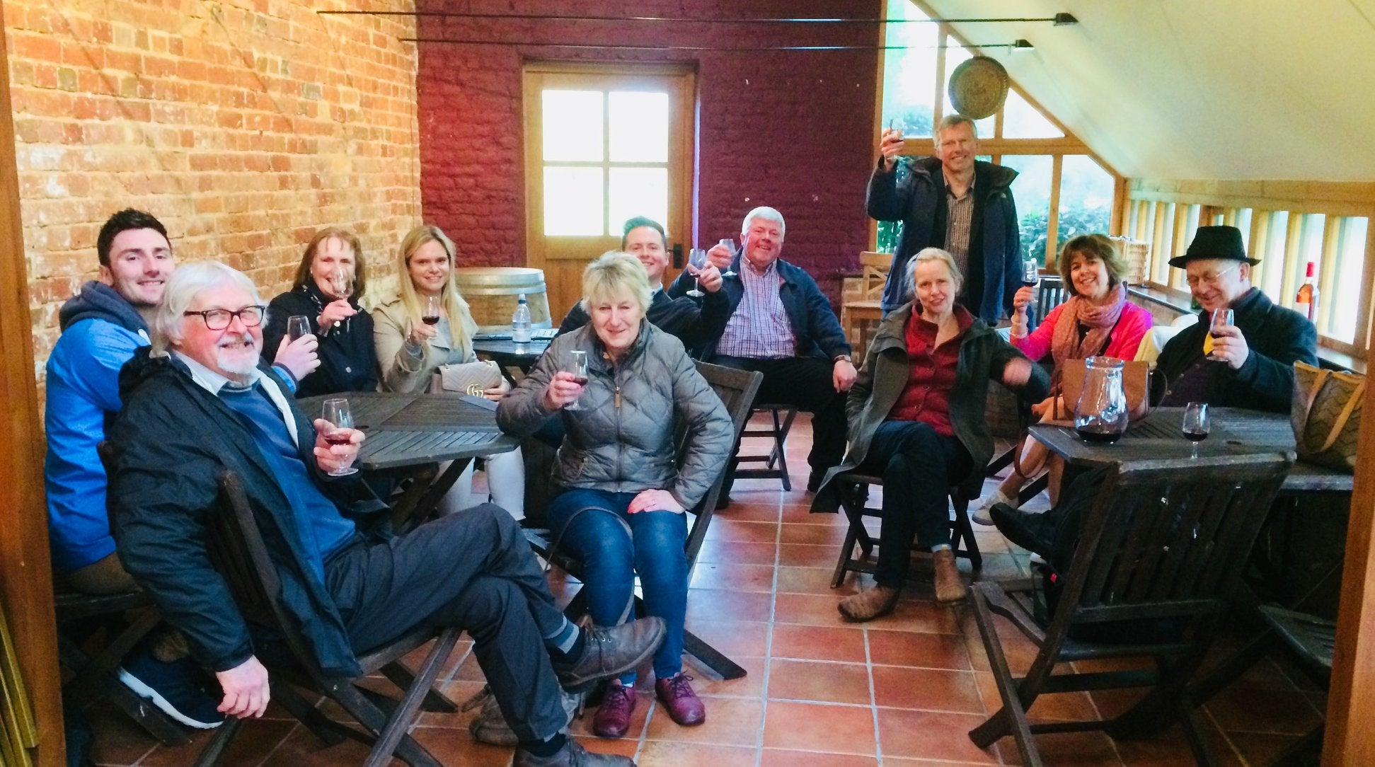 Saturday 20th April 2019 at 2pm - WINE LOVER Tour