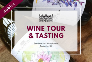 Sunday 4th April 2021 at 2 pm - EASTER SUNDAY - Wine Tour & Tasting