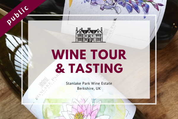 Friday 9th April 2021 at 2 pm - Wine Tour & Tasting