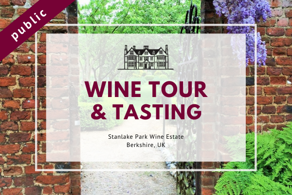 Sunday 8th August 2021 at 2 pm - Wine Tour & Tasting