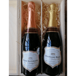 Sparkling Wine Top Double Gift Box