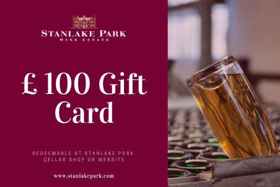 Gift Card - £ 100 (Redeemable online and at our Cellar Shop)