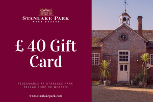 Gift Card - £ 40 (Redeemable online and at our Cellar Shop)