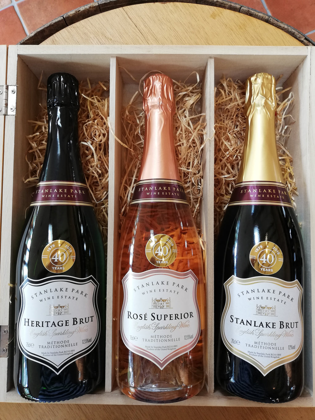 Luxury English Sparkling Wine Box