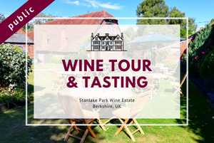 Saturday 3rd July 2021 at 2 pm - Wine Tour & Tasting