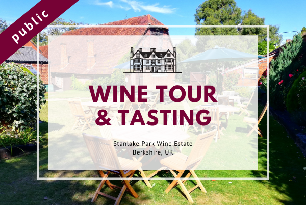 Sunday 25th July 2021 at 2 pm - Wine Tour & Tasting