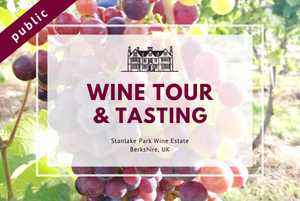 Saturday 12th June 2021 at 11 am - Wine Tour & Tasting
