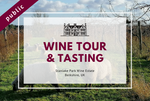 Monday 3rd 2021 at 2 pm - BANK HOLIDAY - Wine Tour & Tasting