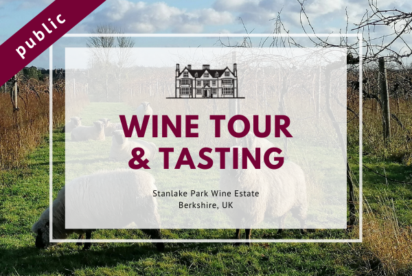 Sunday 30th May 2021 at 2 pm - Wine Tour & Tasting