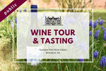 Saturday 2nd October 2021 at 11 am - Wine Tour & Tasting