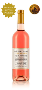 Pinot Noir Rosé 2018 - 40th Anniversary Limited Edition