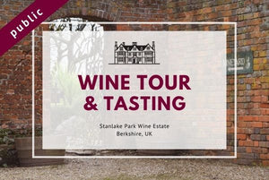 Saturday 4th September 2021 at 11 am - Wine Tour & Tasting