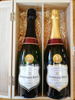 Sparkling White Wine Double Gift Box