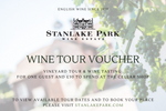 Wine Tour Voucher for 1 Guest plus £30 to spend in Cellar Shop (Delivered by Email)