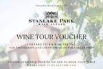 Wine Tour Voucher for 2 Guests plus £30 to spend in Cellar Shop (Delivered by Email)