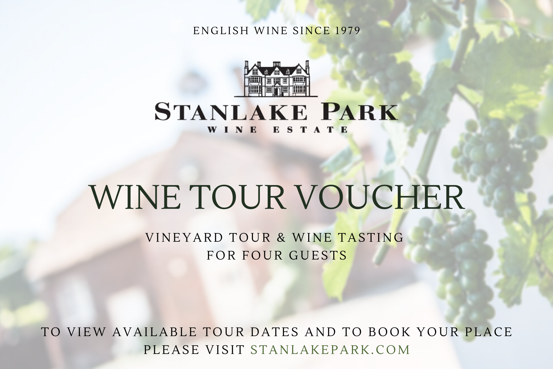 Wine Tour Voucher for Four
